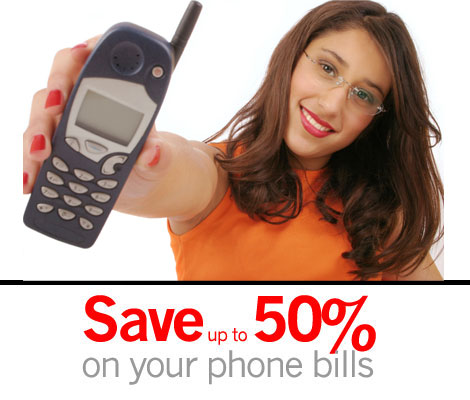 Save up to 50% on your phone bills with TheNGT.com
